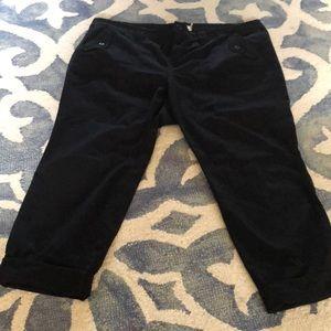 Torrid black cropped pants